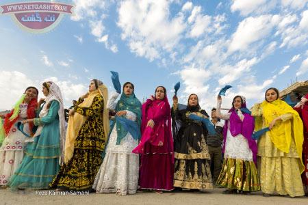 بختیاری ها و آداب و رسوم اصیل آنها - لباس بختیاری ها