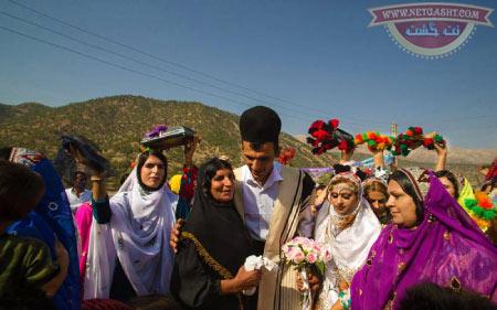 بختیاری ها و آداب و رسوم اصیل آنها - مراسم ازدواج بختیاری ها