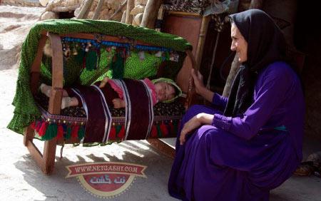 بختیاری ها و آداب و رسوم اصیل آنها - رسم تولد نوزاد بختیاری ها