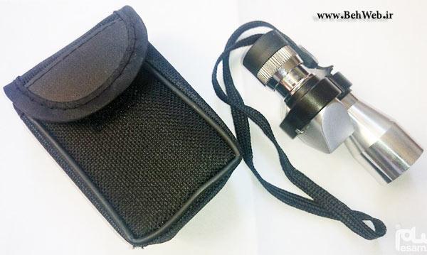 دوربین شکاری کوچک تک چشمی تلسکوپی 8×20