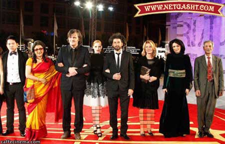 عکس های متفاوت ليلا حاتمي با لباس عربي در جشنواره مراكش