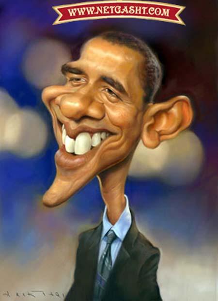 آینه بغل باراک اوباما مورد توجه قرار گرفت