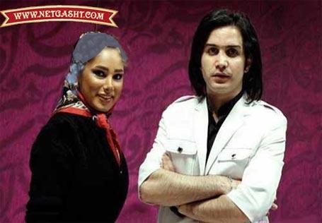 عكس/ محسن يگانه و همسرش
