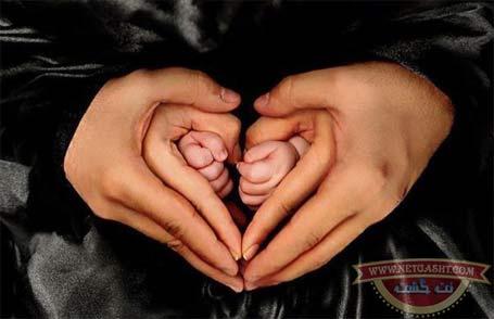 دستان پر مهر پدر، مادر و فرزند