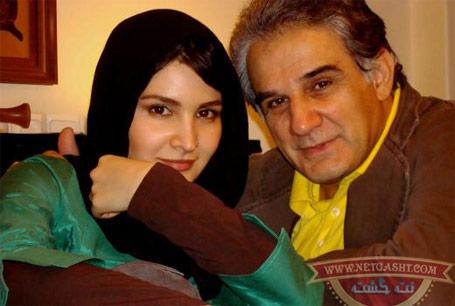 عکس مهدی هاشمی و دخترش