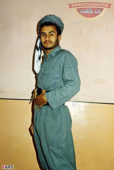 حسن عباسی عضو تکاوران هوابرد 66