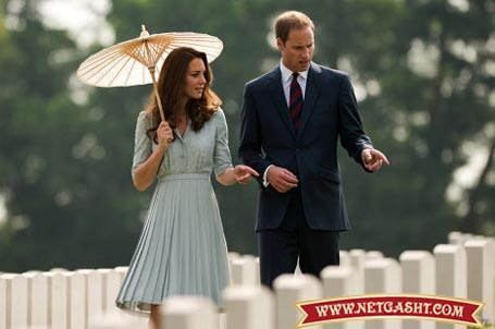 عکس های شاهزاده ویلیام و کیت میدلتون در  کشورهای آسیایی