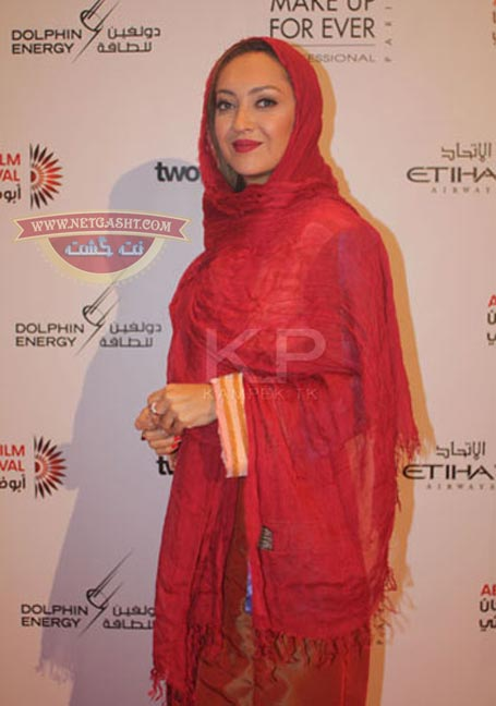 عکس های نیکی کریمی در جشنواره فیلم ابوظبی
