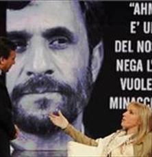 زیباترین دختر سال ایتالیا عاشق احمدی نژاد شد+ عکس