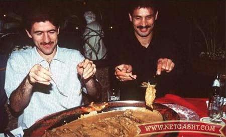 غذای 14 سال پیشِ دایی و باقری /عکس