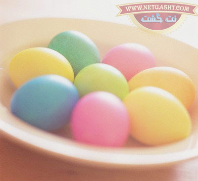 مجموعه کامل آموزش تصویری تزیین و رنگ کردن تخم مرغ سفره هفت سین سال 95