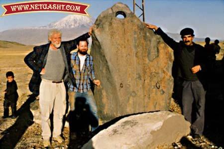 کشف کشتی نوح با کتیبه 5 تن آل عبا+ عکسها
