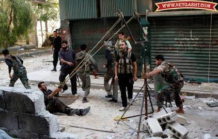 سلاح های دست ساز فوق پیشرفته شورشیان مسلح سوری