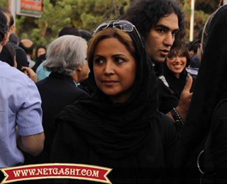 عکس لو رفته کمند امیر سلیمانی و رضا یزدانی در خیابان