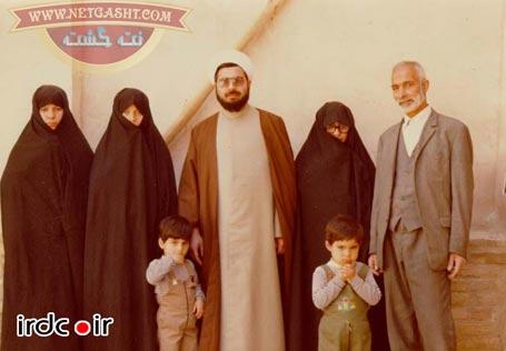 عکسی از دکتر روحانی، همسر، فرزندان وخانواده اش