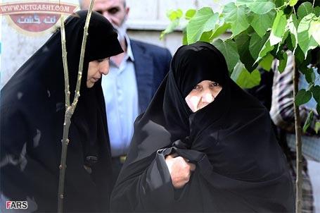 عکس همسر رئیس جمهور ، دکتر حسن روحانی