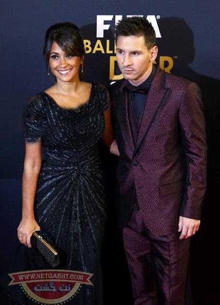 لیونل مسی و همسرش آنتونلا روکازو