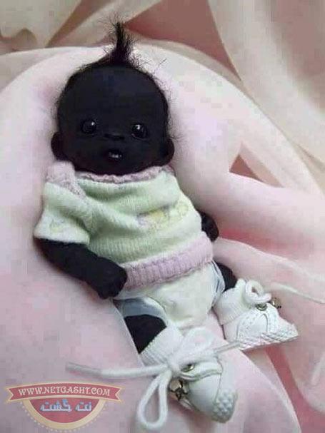 سیاه ترین نوزاد متولد شده انسان