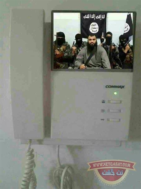 منم داعش، در رو باز کنین - خنده دار
