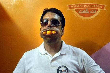 رکورد دار دهان گشادترین فرد در گینس کیست؟+ عکس