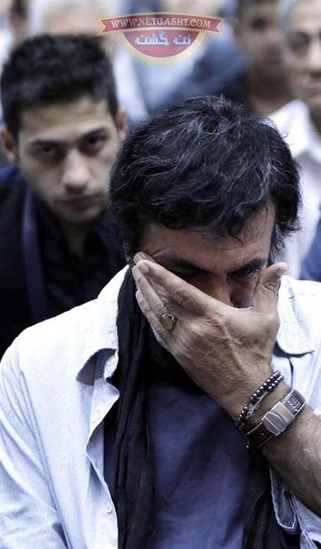تصاویر حضور حبیب، خواننده لس انجلسی در مراسم حتم علی طباطبایی
