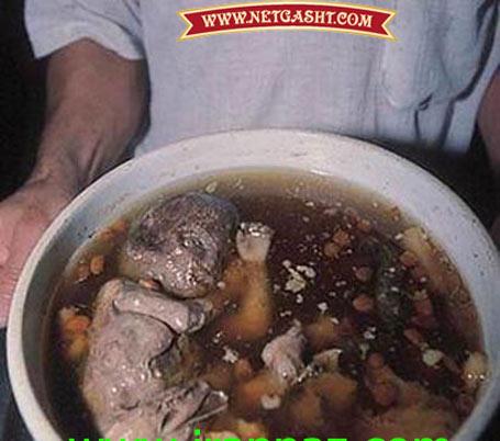 سوپ انسان، چندش آورترین و وحشتناک ترین غذای بشر قرن 21