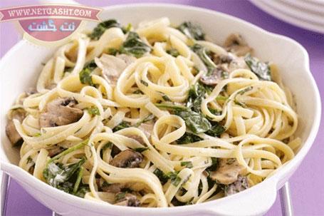 طرز تهیه، پخت و طبخ ماکارونی پاستا با سس آلفردو