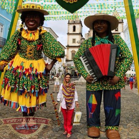 عکس های شخصی لیندا کیانی در سفر به برزیل