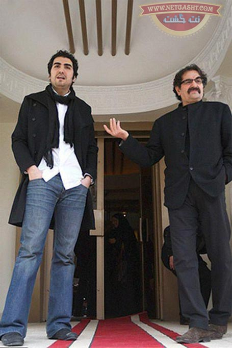 عکس شهرام ناظری و پسرش حافظ ناظری