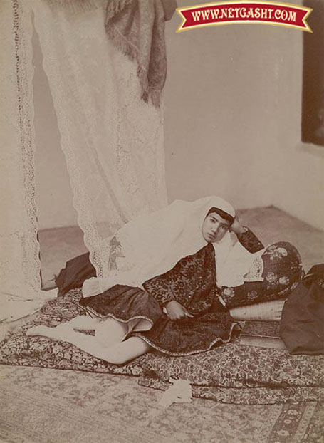 عکسی از دختر شاه قاجار