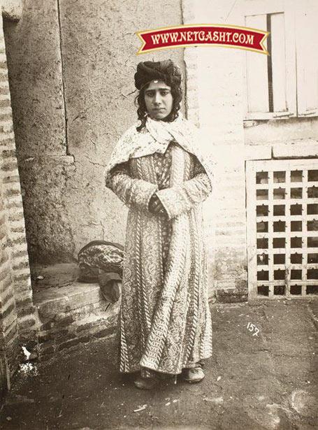 یک دختر کرد ایرانی