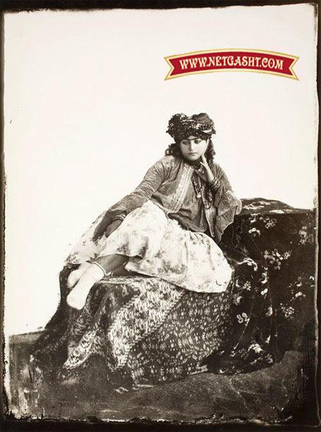 عکس یک دختر یهودی ساکن ایران
