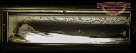 نمایش جنازه های فاسد نشده راحبان و کشیش های مسیحی در کلیسای رم