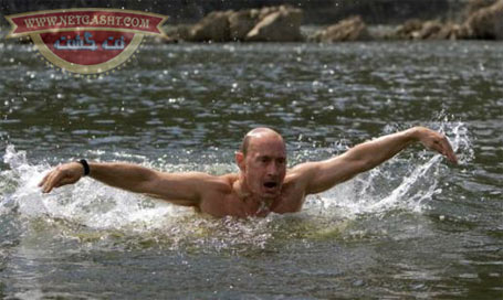 عکس های دیدنی از ماهیگیری، تیراندازی، شنا ، ورزش رزمی ولادیمیر پوتین