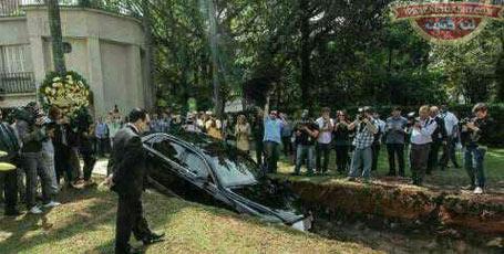خدمتی که میلیاردر برزیلی با دفن ماشین نیم میلیون دلاری اش به اهدا اعضا بدن کرد