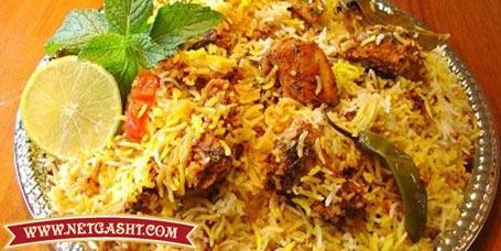 طرز تهیه، پخت و طبخ پلو یا مرغ بریان هندی