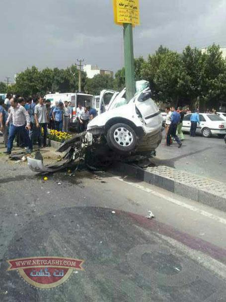 تصادف وحشتناک در همدان