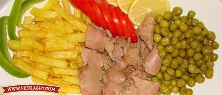 طرز تهیه یک غذای سریع و خوشمزه- خوراک تن ماهی