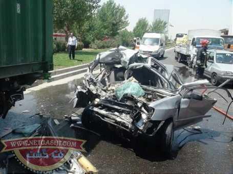 عکس هایی از تصادفات وحشتناک نوروز 94