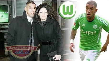 عکسهای اشکان دژاگه، فوتبالیست معروف در کنار همسرش