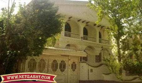 عکس خانه اعیانی و اشرافی عادل فردوسی پور در شهرک غرب