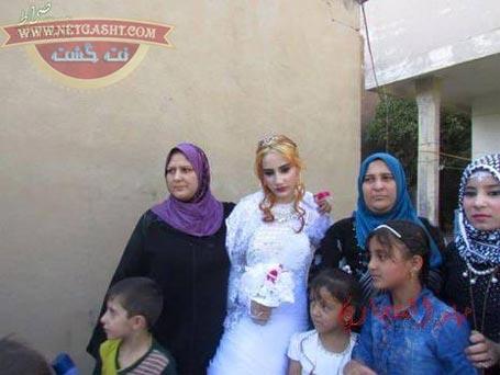 عکس های عروسی داعشی ها - یک عروس و داماد داعشی
