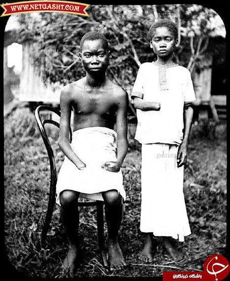 تصاویری از احساس لذت و افتخار غربی ها به جنایاتشان، عکس های یادگاری غرور آمیزشان با حیوانی ترین و وحشیانه ترین رفتارشان، تصاویری از کلکسیون سرهای بریده بومی ها، تصاویری از شکنجه بردگان