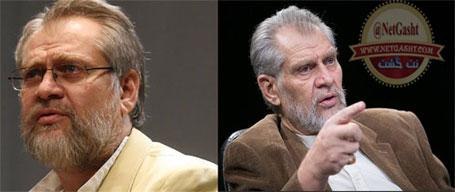 عکس تغییرات تاسف بار چهره نادر طالب زاده قبل و بعد از ترور بیولوژیکی توسط موساد