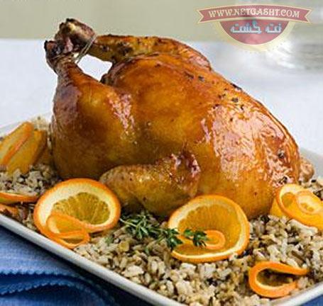 طرز تهیه، پخت و طبخ مرغ تنوری و مرغ بریان با سس مخصوص