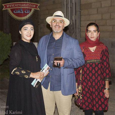 عکس جدید رویا نونهالی و همسر و دخترش