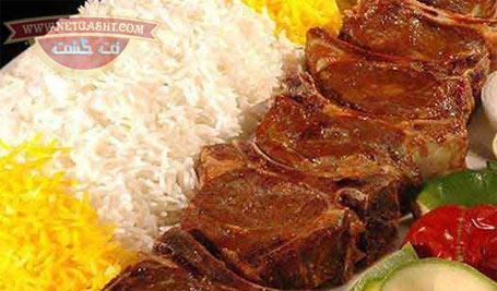 عکس لو رفته و شفاف سازی شده غذای فرماندار ورامین - شیشلیک و کباب