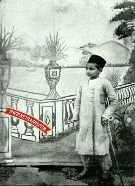 عکسی نادر و کمیاب از کودکی آیت الله بهجت