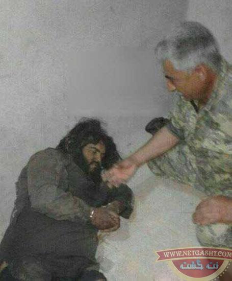 ابوعبدالرحمن جلاد بیرحم داعشی معروف به غول داعشی دستگیر شد +18