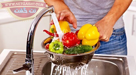آیا شستن میوه و سبزیجات با سرکه آنها را ضد عفونی می کند؟